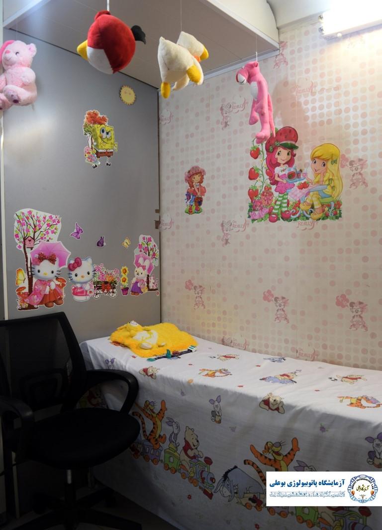 اتاق نمونه گیری اطفال