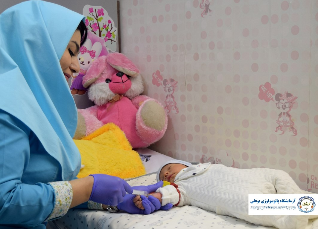 بخش نمونه گیری اطفال